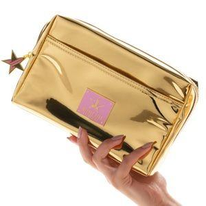 Jeffree Star Bags - Jeffree Star Gold Make up bag